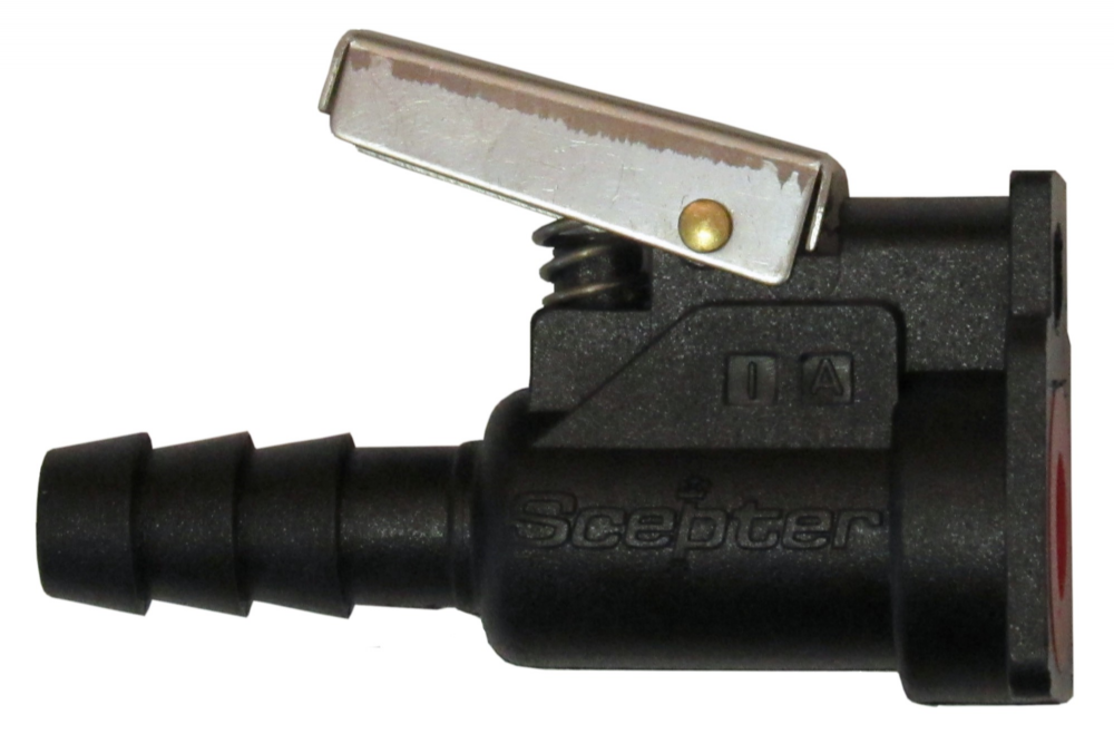 "Outboard Fuel Connector for Mercury and Mariner Male and Female 3/8"" 9.5mm"